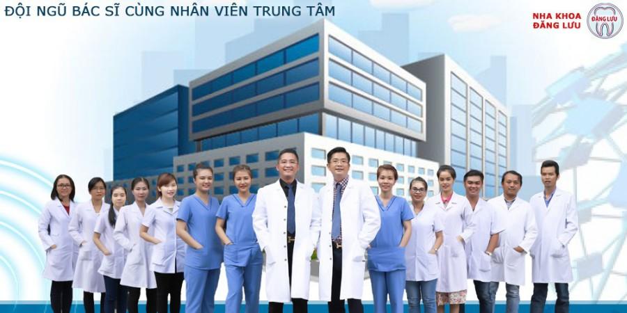 Đội ngũ bác sĩ nha khoa uy tín